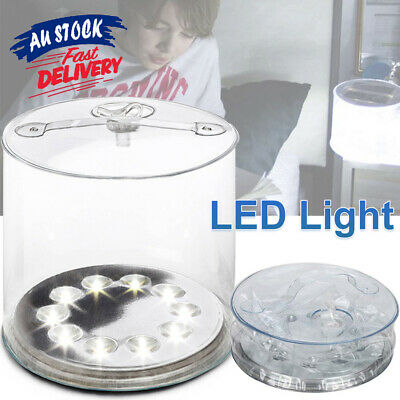 AU16.08 • Buy Solar Inflatable Light Lantern Camping Lamp LED Outdoor Tent K7 Power Bright