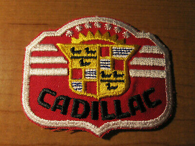 CADILLAC Automobile Dealer Embroidered Cloth Patch SERVICE Employee • 9.95$