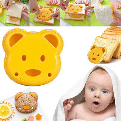 Bear MG Too Bento Sandwich Cake Maker Mould Toast DIY Cutter Mold Bread Cookie • 3.09£