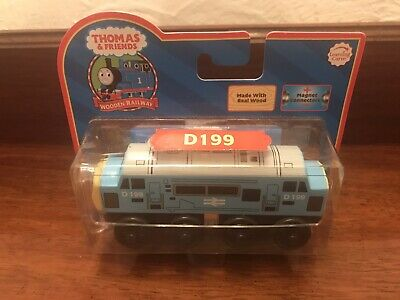 ⭐️ WOODEN THOMAS The Tank Engine DIESEL D199 Red Label Learning Curve LC99071 ⭐️ • 59.99£