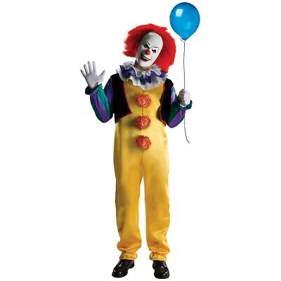 $43.09 • Buy Pennywise Costume Adult Scary Clown It Halloween Fancy Dress