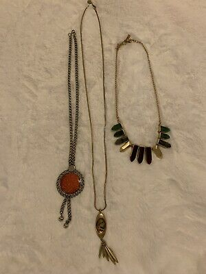 $ CDN40.74 • Buy Jewelry Lots Vintage/costume Necklaces By Celebrity Ny, Inc & Bella Jack. Euc