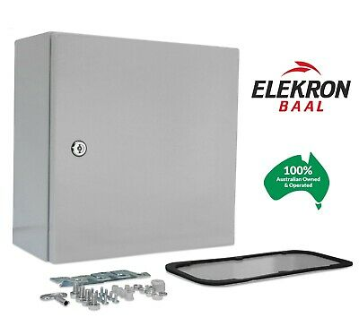 AU83 • Buy Electrical Steel Enclosure Box Cabinet Switchboard 400(H)x300(W)x200(D) IP66
