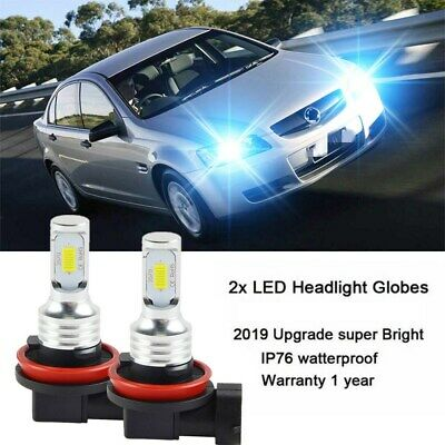 AU28.79 • Buy Ice Blue H11 H9 Led Headlight For Holden Ve Commodore Ssv Ss Sv6 Hsv High Beam