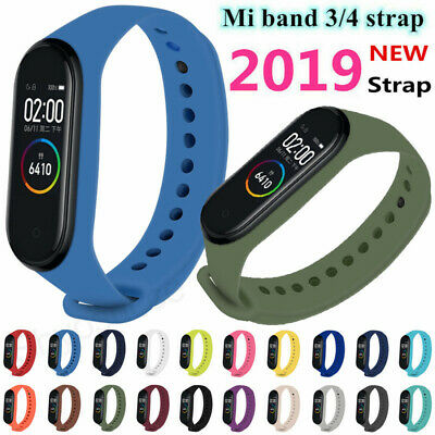 $3.49 • Buy For Xiaomi MI Band 3/4 Strap Replacement Bracelet Silicone Wristband Watch Band