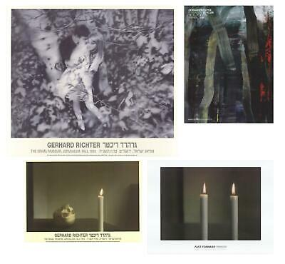 $200 • Buy Bundle- 4 Assorted Gerhard Richter First Edition Posters
