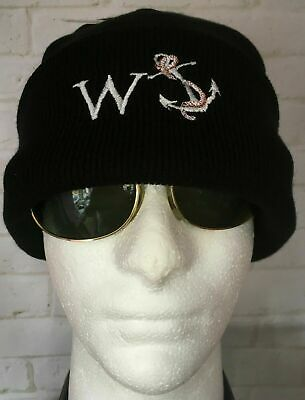Wanker W Anchor Ski Hat With Turn Up Rude Novelty Joke Funny Gift New Year Sale • 7.99£