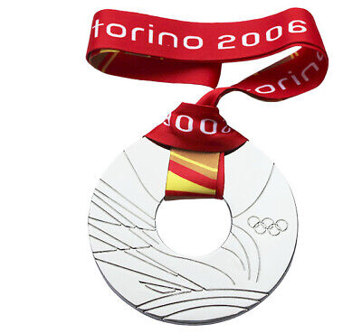 £39.83 • Buy Silver Medal Of The XX Olympic Games In Turin 2006