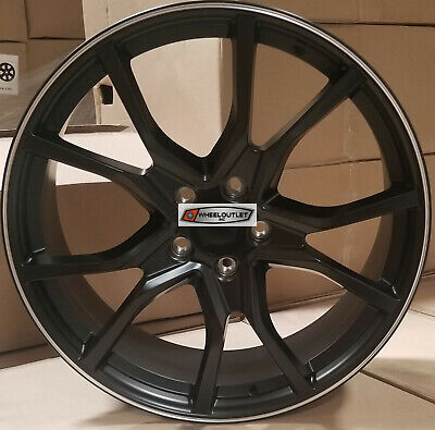 AU1083.72 • Buy 20 Wheels Satin Black Rims Type R Style Fit Honda Accord Civic Sedan Coupe 5 Lug