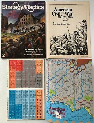 Strategy & Tactics #93: The American Civil War (1984) - Unpunched • 17.50$