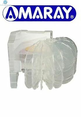 1 X 24 Way Clear Megapack DVD 64mm [24 Discs] New Empty Replacement Amaray Case • 14.99£