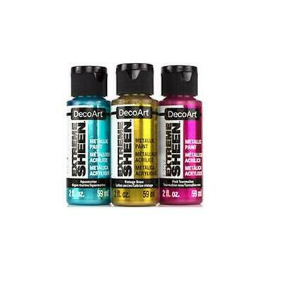 DecoArt Extreme Sheen Metallics - Acrylic Paint 59ml - BUY 5, GET 5 FREE! • 5.79£