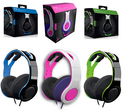AU22 • Buy Wired Stereo Gaming Headset For PS4 XBOX One XB1 Nintendo Switch Blue Pink Green