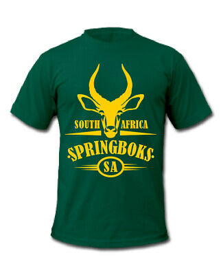 Springboks Rugby South Africa T-Shirt • 15.99£