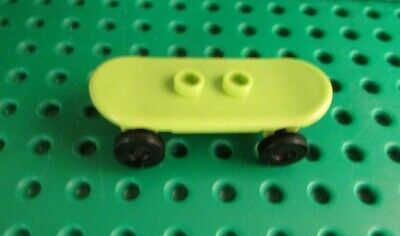 LEGO Lime Green Skateboard For Minifigure • 3.25£