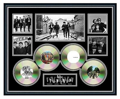 AU99.99 • Buy The Beatles Revolver Abbey Road Signed Photo Limited Edition Framed Memorabilia
