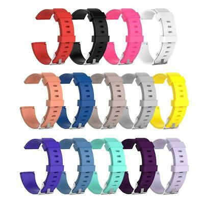 $ CDN4.51 • Buy Soft Silicone Replacement Sport Wristband Watch Band Strap For Fitbit Versa #N1