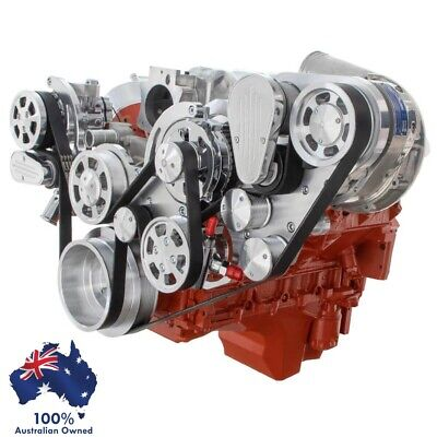 AU8957.75 • Buy Gm Holden Chevy Ls1 Engine Serp Kit Ac Alt & P/steer For Procharger Supercharger