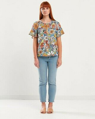 AU19.90 • Buy Privilege Clothing Frill Sleeve Top
