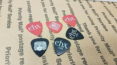 $ CDN12.08 • Buy 6 Electro Harmonix Guitar Picks Black And Red EHX Promo Swag
