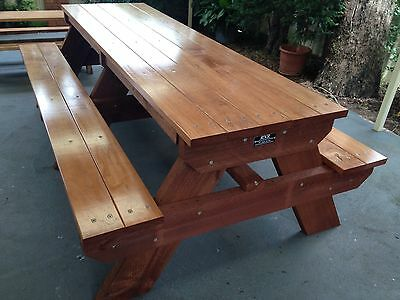 AU750 • Buy Timber Outdoor Setting Picnic Table Brand New 2.4 Metres