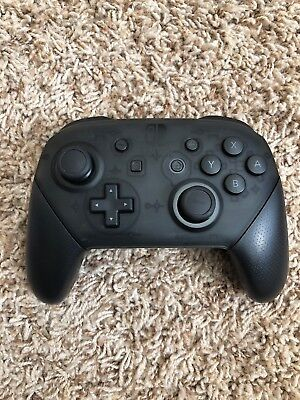 Nintendo Switch Black Official Genuine Pro Controller Wireless ONLY - Tested! • 42.45$