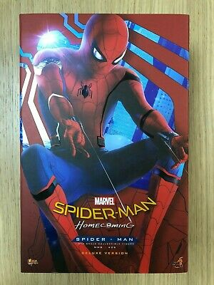 $ CDN1059.14 • Buy Hot Toys MMS 426 Spider-Man Homecoming (Deluxe Version) Peter Parker Figure USED