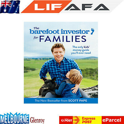 AU40.49 • Buy The Barefoot Investor For Families By Scott Pape Paperback Book For Xmas Gift LF