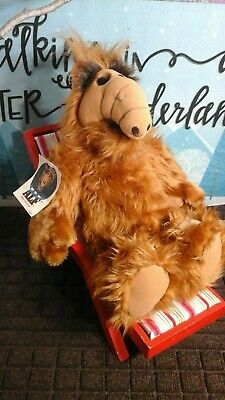 ALF The Alien Life Form 18  Plush Toy 1986 Coleco Vintage New Doll  • 89.90$