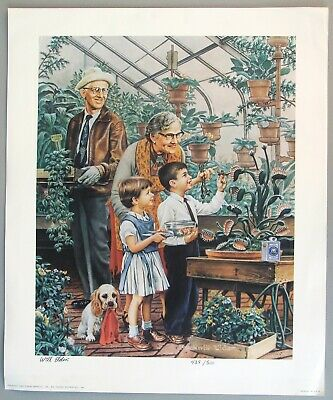 $ CDN291.95 • Buy 1985 Norman Rockwell Parody Poster By E.C. Comic Book Artist Bill Elder, Signed