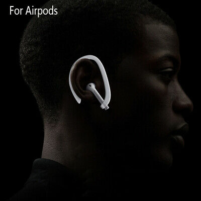 $ CDN5.65 • Buy 1 Pair Earhook Holder For Apple AirPods Strap Silicone Sports Anti-lost Ear Hook