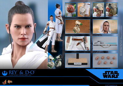 $ CDN402.13 • Buy Hot Toys 1/6th Scale Rey And D-O Set MMS559 Star Wars: The Rise Of Skywalker