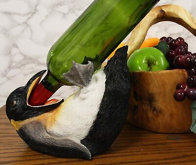 $ CDN38.98 • Buy Ebros Acrobatic Drunken Tuxedo Emperor Penguin Wine Bottle Holder 8.5  Long Bird