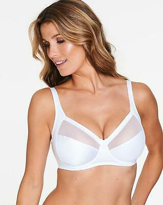 Playtex P04R3 White Soft Cup With Mesh Soft Feel Underwired Bra  • 10.99£