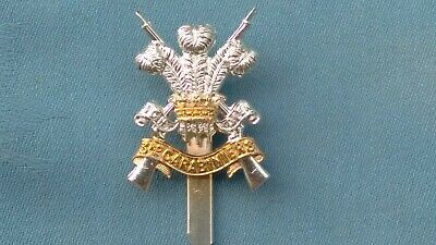 Staybright/Anodised.The 3rd Dragoon ( Carabiniers ) Guards Cap Badge. • 10£