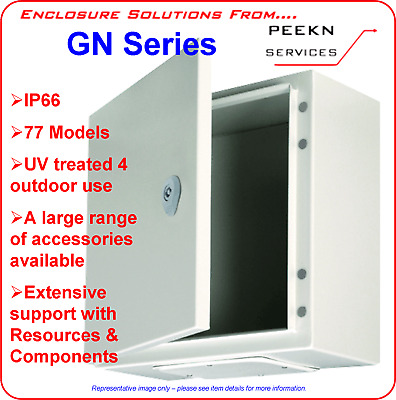 AU55 • Buy 300H 200W 150D IP66 Electrical Enclosure Switchboard Cabinet Box GREY GN302015