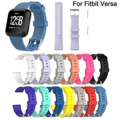 $ CDN11.20 • Buy Smart Band Wrist Strap Silicone Bracelet Replacement Wristband For Fitbit Versa