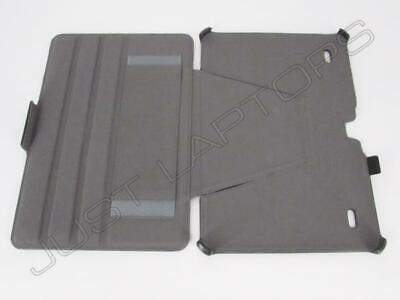 New Hannspree SN1AT73 Tablet HANNSpad Faux Leather Case Cover Stand Black • 7.95£