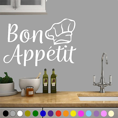 Wall Art Bon Appetit Kitchen Sticker Decal Stickers Interior Home Decor Quotes • 4.99£