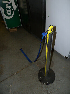 £160 • Buy 2m Crowd Control Retractable Belt Tape Barrier With 1m Post. Set Of 5.