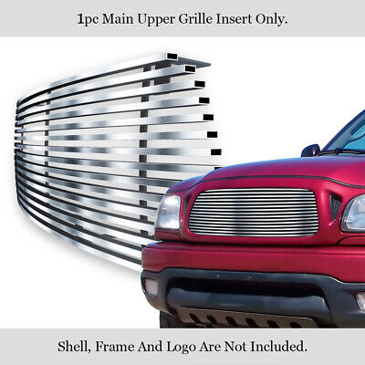 $67 • Buy Fits 01-04 Toyota Tacoma Stainless Steel Billet Grille Insert