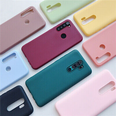 For Xiaomi Redmi Note 8 7 6 5 Pro 8A Mi 9 8 A2 Soft Rubber Matte TPU Case Cover • 2.19$