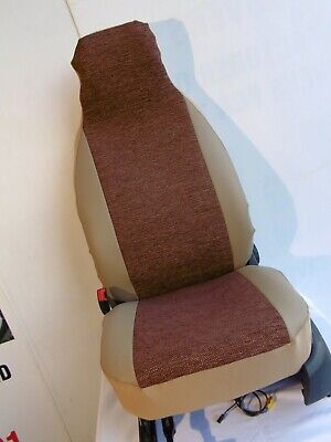 To Fit Talbot Express 2004 Motorhome, Seat Covers Chocolate Herringbone Mh-227  • 79.99£