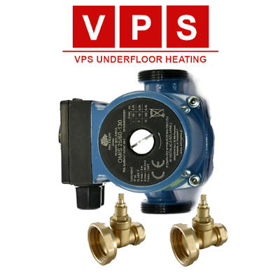 Central Heating Circulating Pump For Hot Water Heating System 25-60 130 • 46.71£
