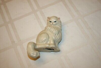$9 • Buy Vintage Ceramic Arts Studio Cat Shelf Sitter Madison, WI Ceramic Cat Figurine