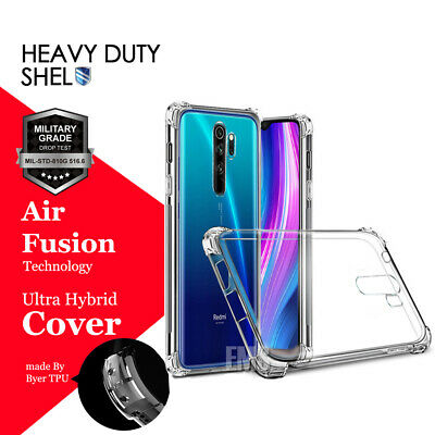 AU8.99 • Buy For Xiaomi Redmi Note 8 9 Pro Heavy Duty Tough Clear Case Shockproof Cover