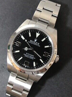 $ CDN11204.70 • Buy Auth ROLEX Rolex Explorer I Ref.214270 Ser.6A8Y1633 Automatic (self-winding) Wit