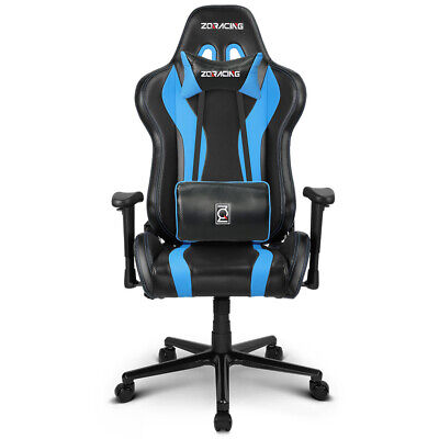 AU439 • Buy ZQRacing V6 Racer Series Gaming Office Chair-Blue/Black
