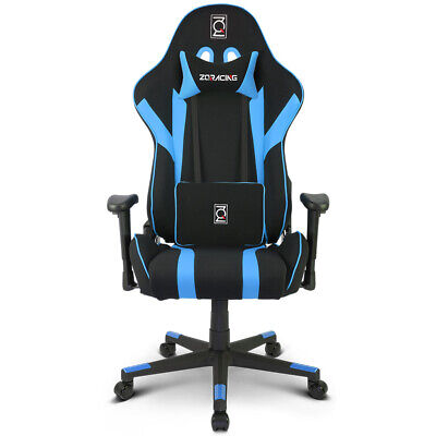 AU299 • Buy ZQRacing Gamer Series Gaming Office Chair-Blue/Black [In Stock]