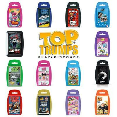 Top Trumps Card Games - Direct From The Manufacturer - Brand New Latest Editions • 4.99£
